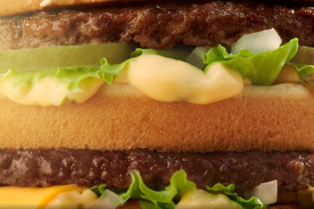 mcdonald's big mac three sizes burgers commercial