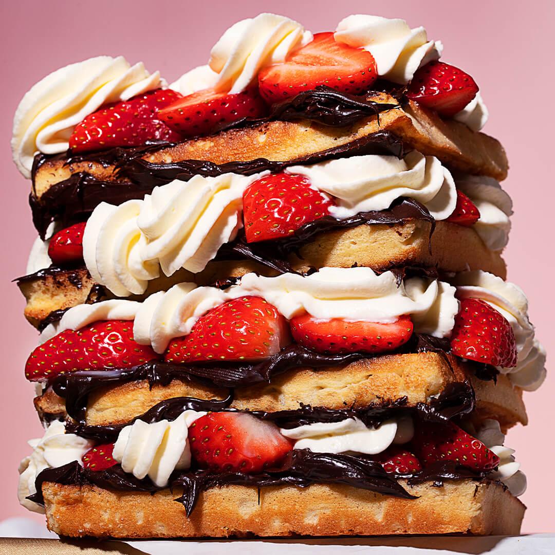 chuck studios - modest indulgence delicous food - waffle