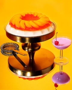 yellow jelly cocktails, give a new swing to your favorite drink