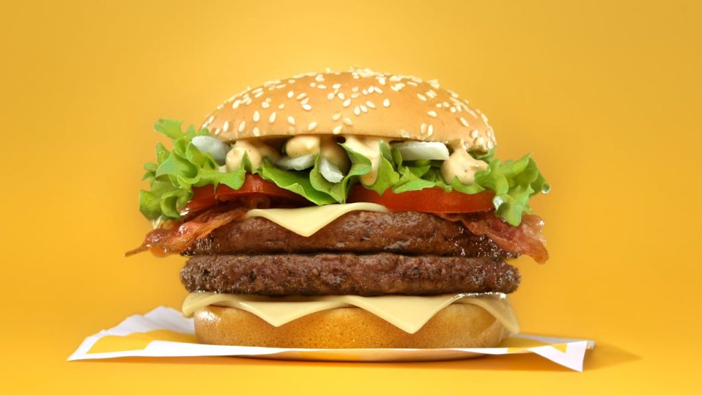 McDonald's big tasty - commercial cover