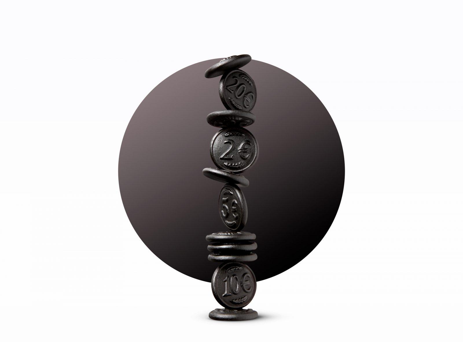 Floris Holtland - packaging photography - liquorice - coins