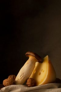 chuck studios - kristty snell - tribute to the dutch mastetrs - mushrooms and cheese